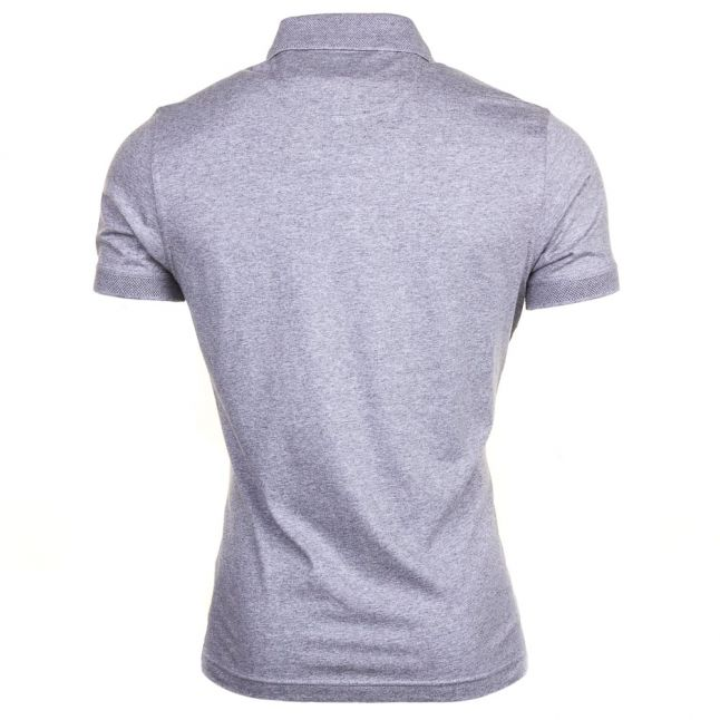 Mens Storm Marl Cage S/s Polo Shirt