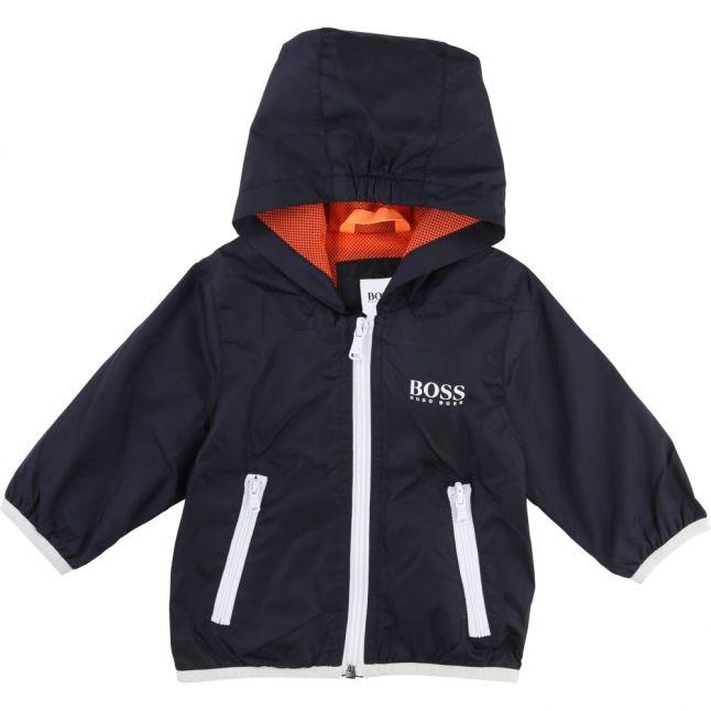 Baby Navy Light Hooded Jacket
