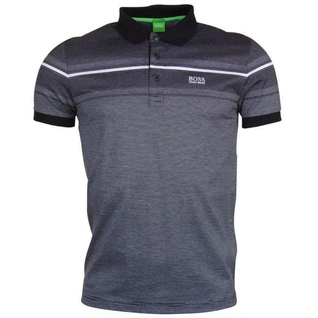 Mens Black Paule 5 S/s Polo Shirt