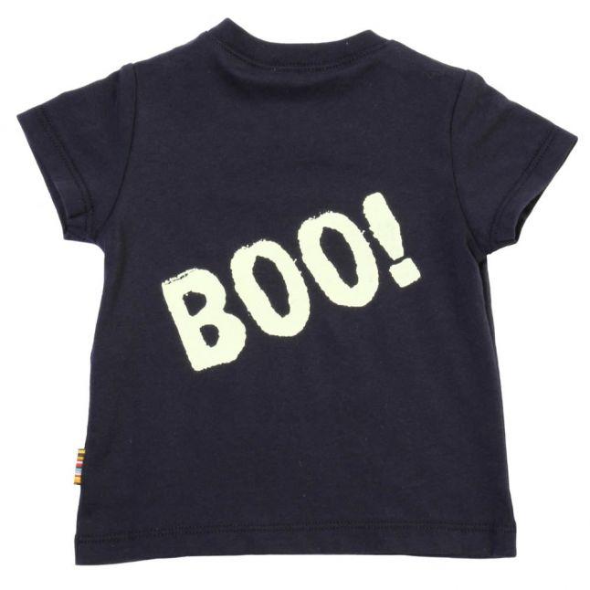 Boys Navy Lin S/s Tee Shirt