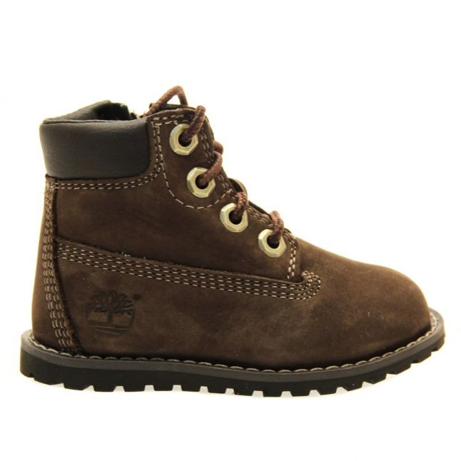 Toddler Brown Pokey Pine 6 Inch Boots (4-11)