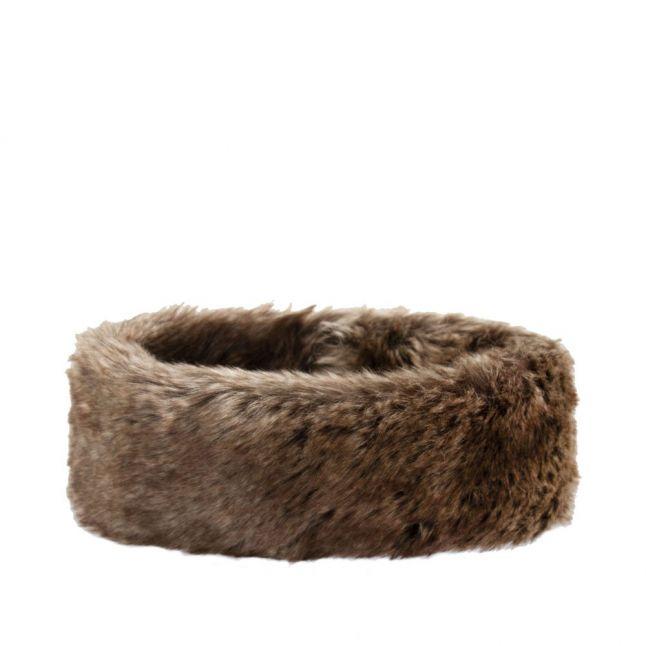 Womens Elk Faux Fur Headband