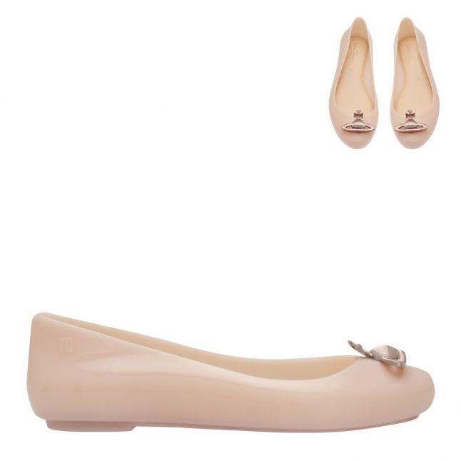 Vivienne Westwood Womens Blush Rose Orb Sweet Love Shoes