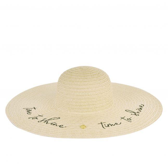 Womens Vanilla Time To Shine Straw Hat
