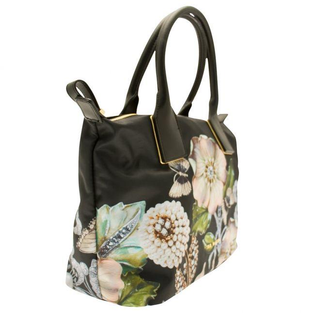 Womens Black Iyesha Small Nylon Tote Bag