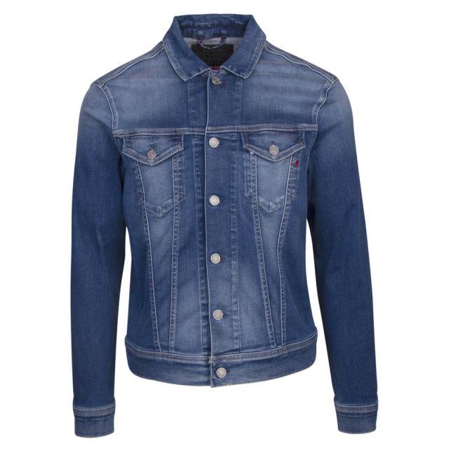 Mens Blue Hyperflex Denim Jacket