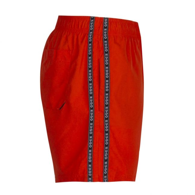 Mens Orange Anguilla Trim Swim Shorts