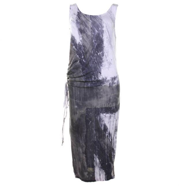 Womens Grey Retrospective Union Jack Dress