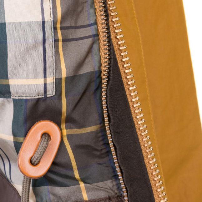 Heritage Mens Yellow Hooded Bedale Waterproof Jacket