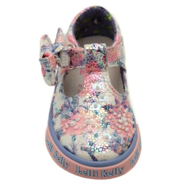 Baby Blue Justine T-Bar Shoes (19-23)