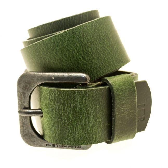Mens Forest Night Zed Leather Belt