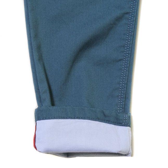 Boys Blue Regular Fit Pants