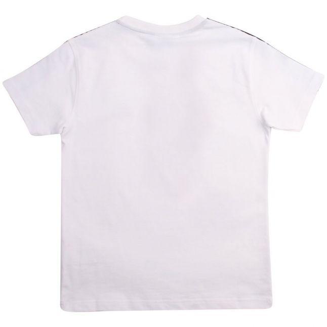 Kids White Randy Tape S/s T Shirt