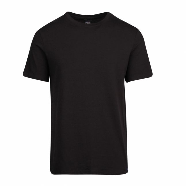 Mens Black 3 Pack Lounge S/s T Shirt Set