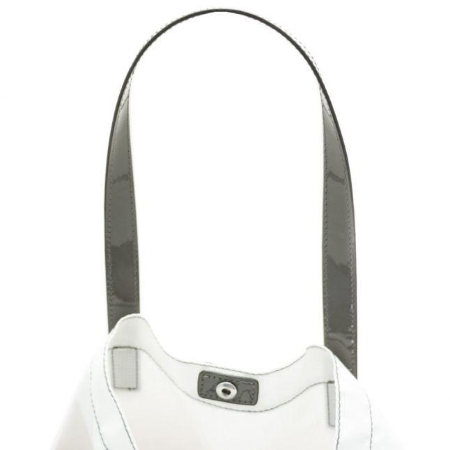 Womens Beige Foldaway Shopper Bag