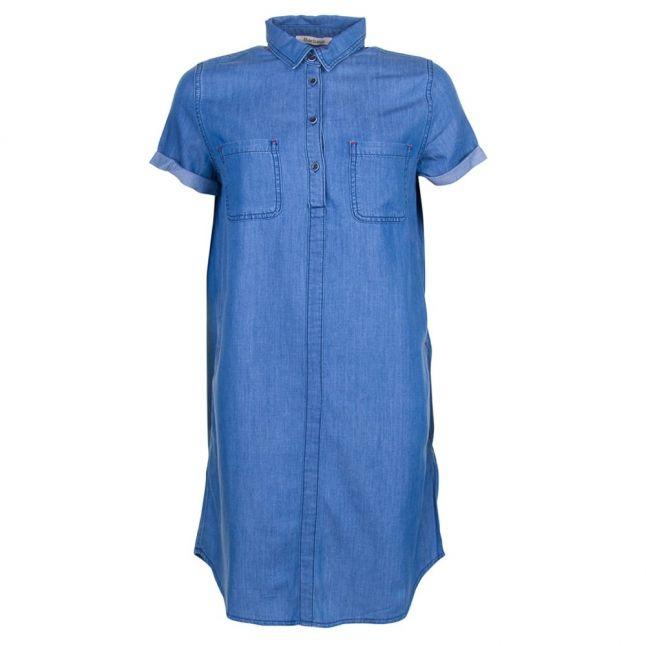 Lifestyle Womens Chambray Fins Dress