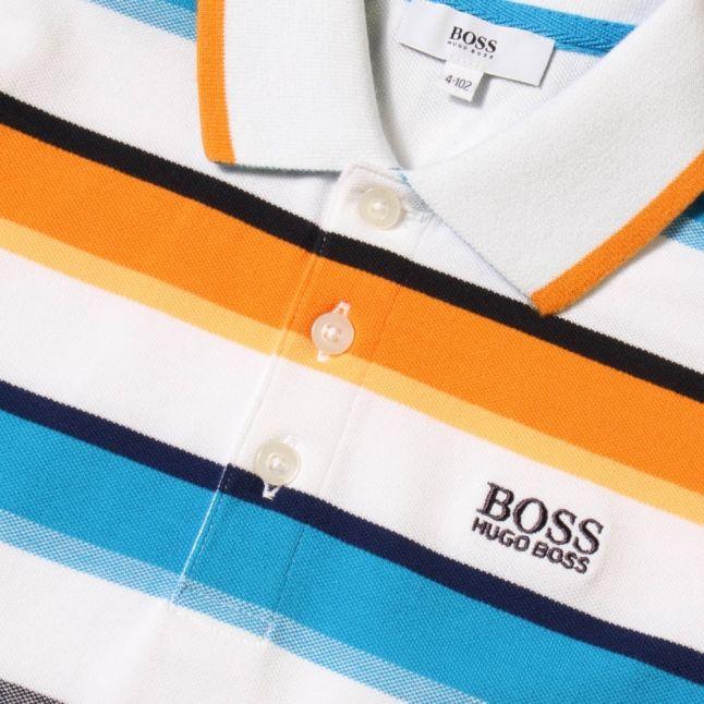 Boys Assorts Striped S/s Polo Shirt