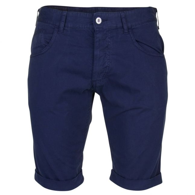 Mens Blue Chino Shorts