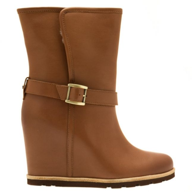 Womens Chestnut Ellecia Boots