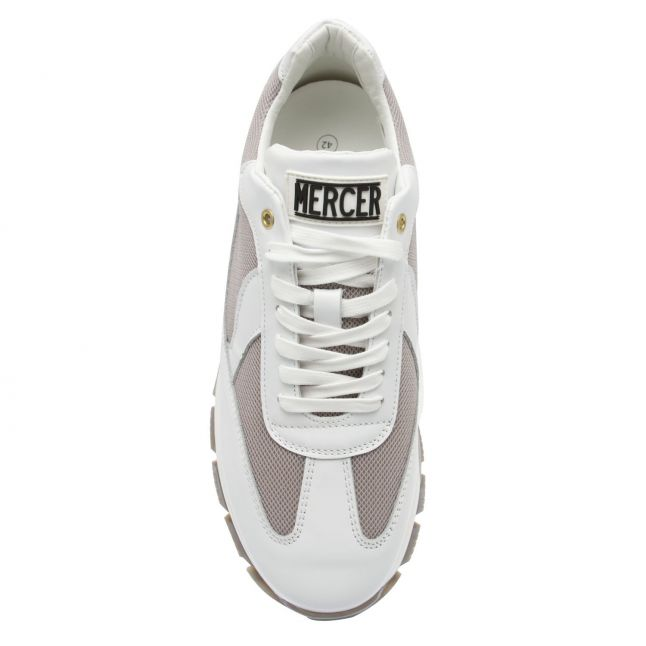 Mens White Flow Wooster 2.0 Trainers
