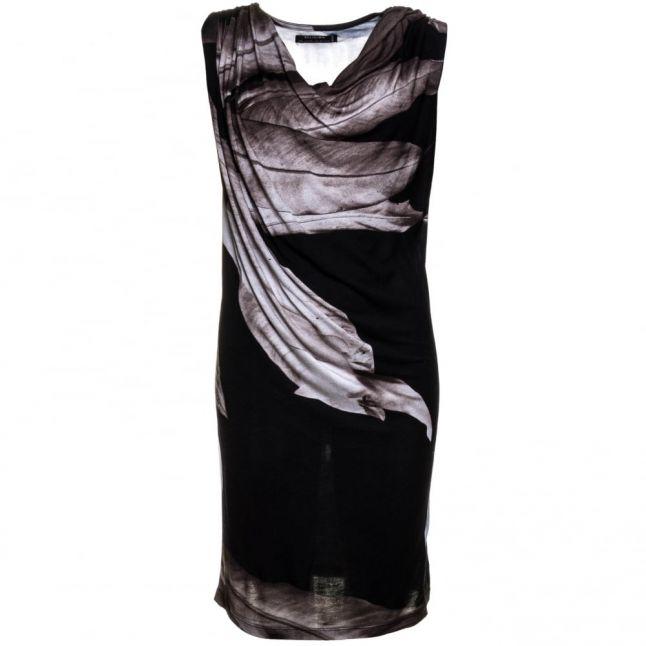 Womens Jet Black Restore Dress
