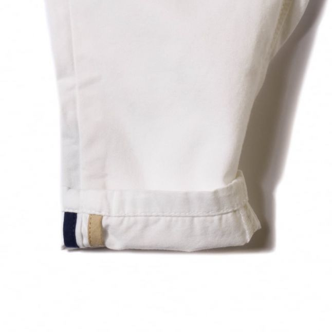 Baby White Branded Pants