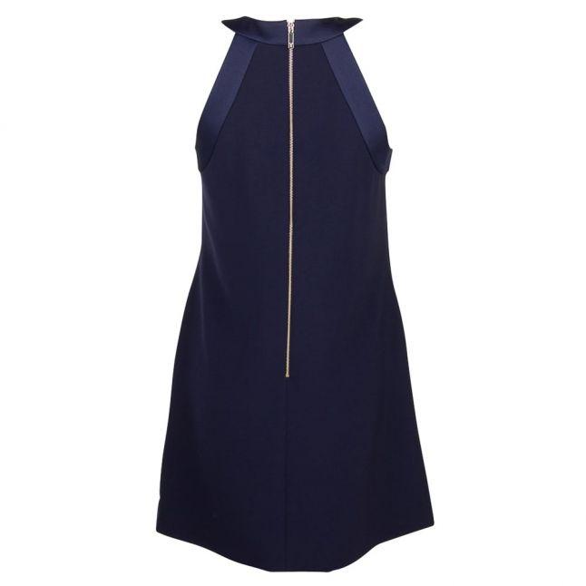 Womens Dark Blue Trixia Bow Dress