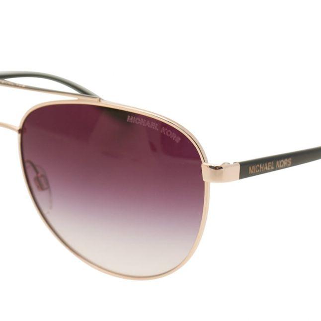 Womens Rose Gold Hvar Sunglasses