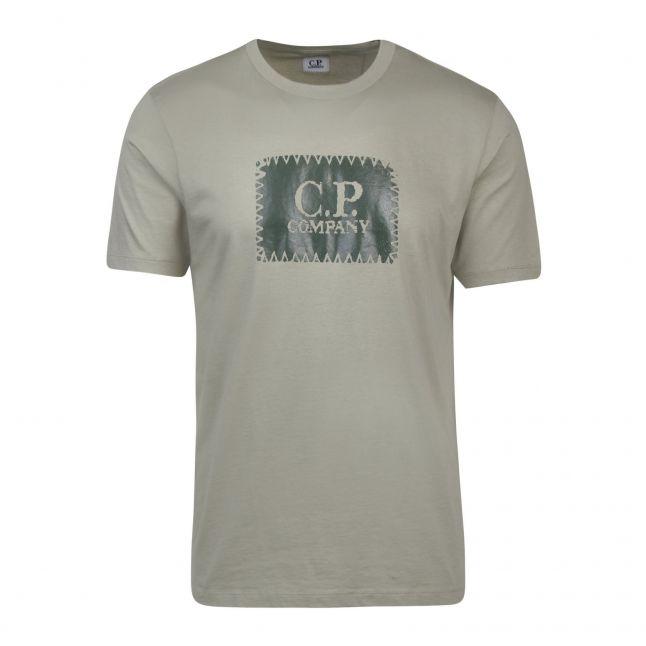 Mens Tea Label S/s T Shirt