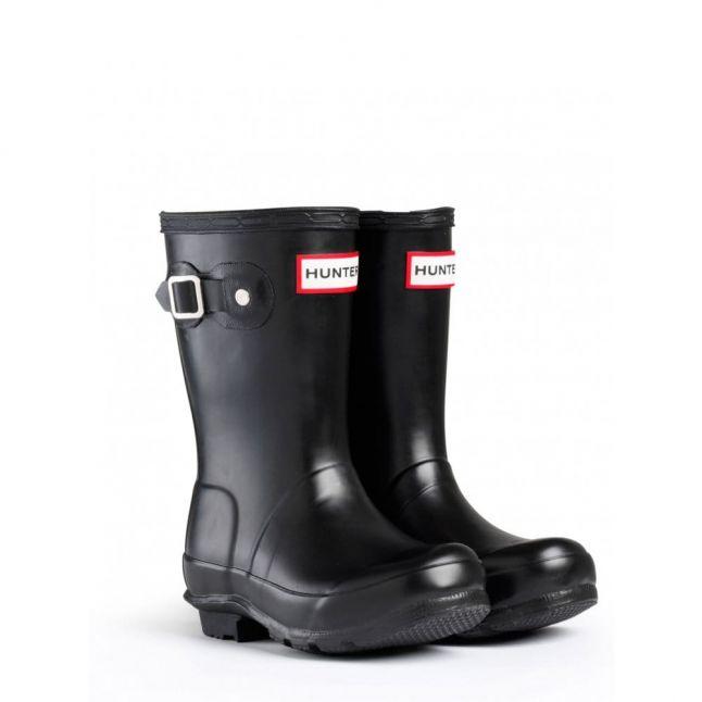 Kids Black Original Wellington Boots (7-5)