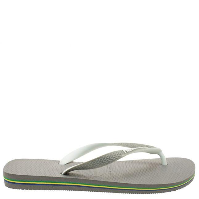 Grey Brasil Mix Flip Flops