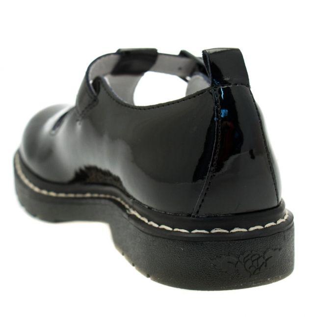 Girls Black Patent Frankie T-Bar Shoes (26-36)