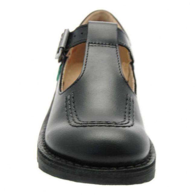 Junior Black Kick T-Bar Shoes (12.5-2.5)