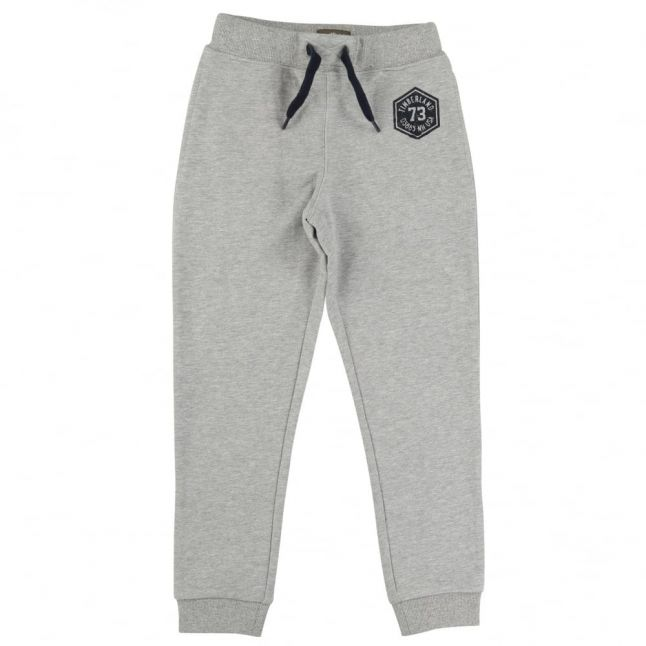 Boys Grey Branded Jog Pants