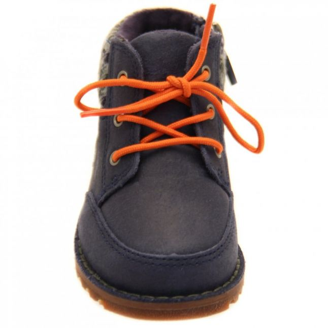 Toddler Navy Orin Boots (5-11)