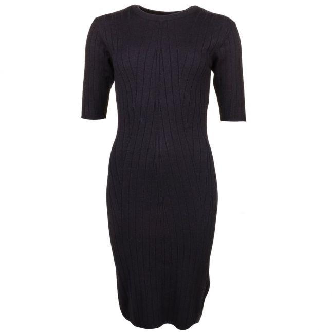 Womens Black Yasboni Knitted Dress