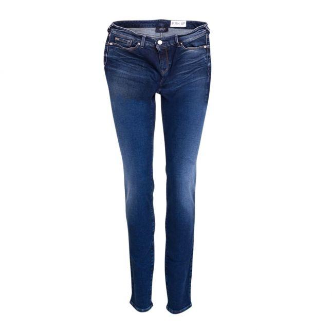 Womens Blue J23 Mid Rise Skinny Push Up Jeans