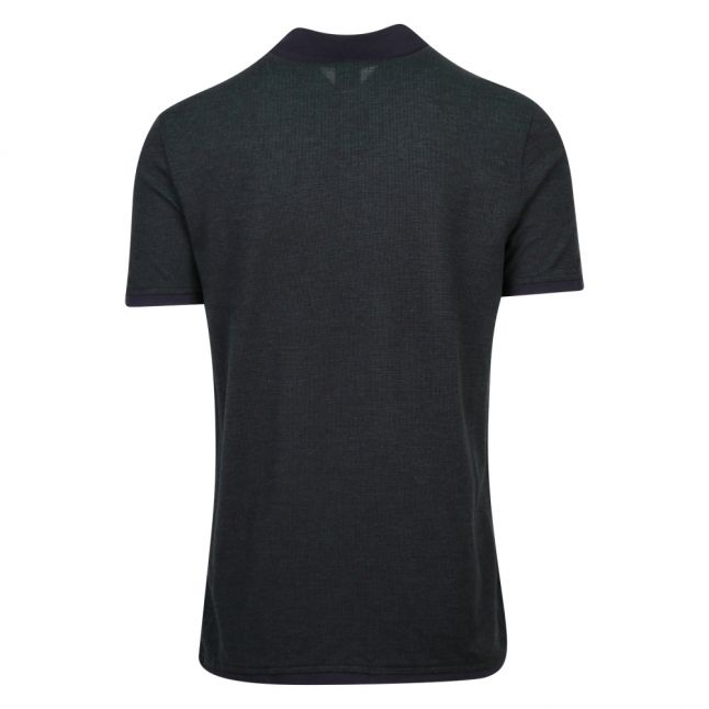 Casual Mens Dark Green Peam S/s Polo Shirt