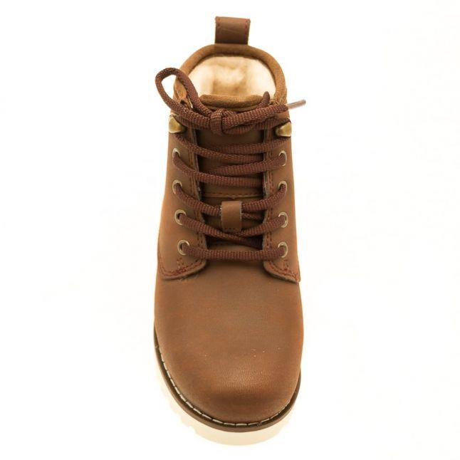 Kids Mahogany Maple Boots (12-3)
