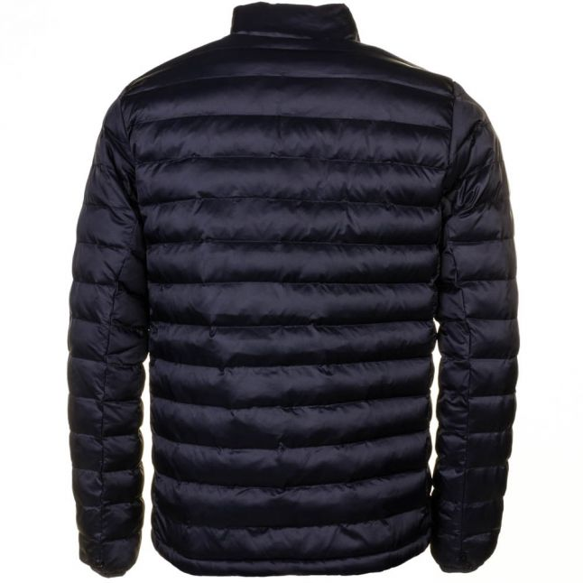 Heritage Mens Navy Templand Baffle Quilted Jacket