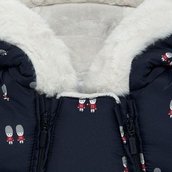 Baby Deep Blue London Guard Snowsuit
