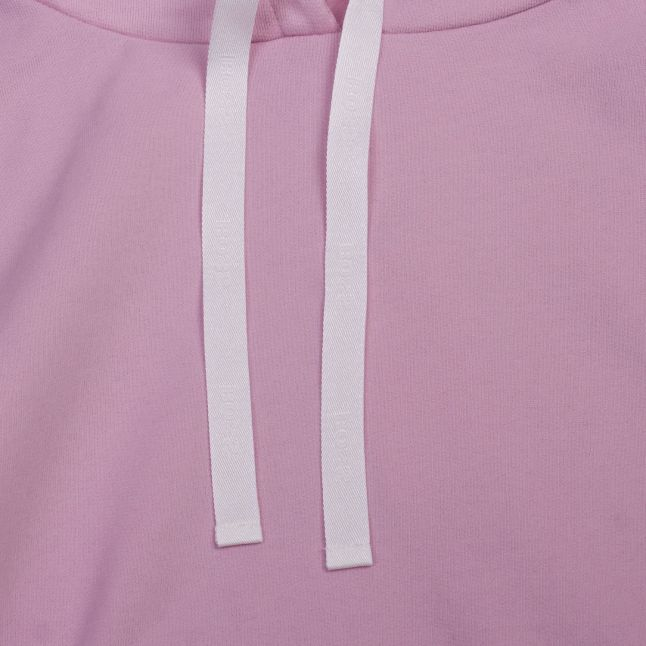 Womens Pale Pink Tadelight Hooded Sweat Top