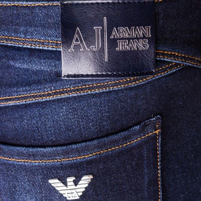 Womens Blue Wash J28 Skinny Fit Jeans