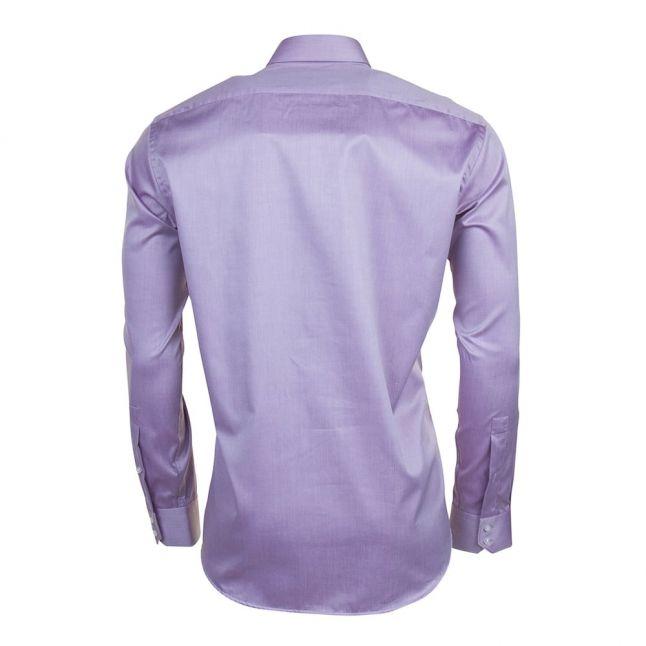 Mens Medium Purple C-Enzo Regular Fit L/s Shirt