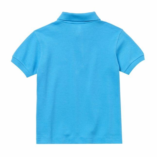 Boys Light Blue Classic Pique S/s Polo Shirt