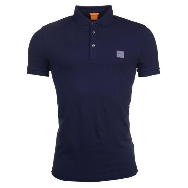 Orange Mens Dark Blue Pavlik S/s Polo Shirt
