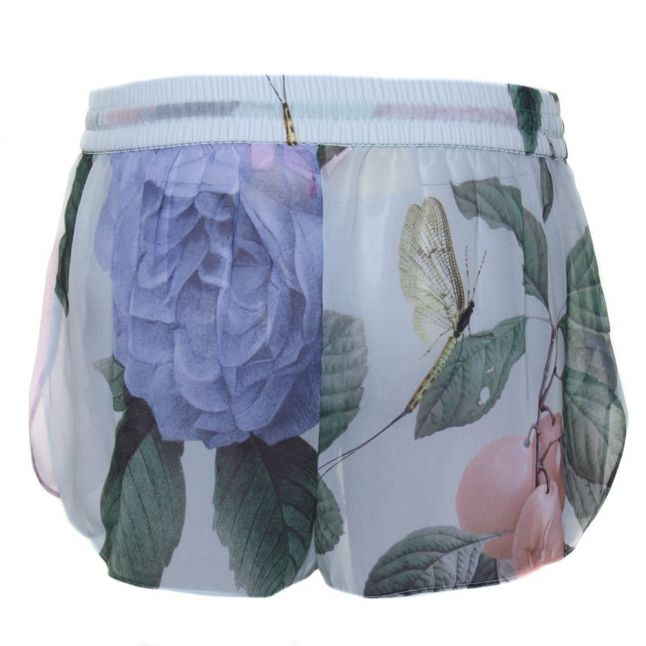 Womens Mint Abbly Distinguishing Rose Cover Up Shorts