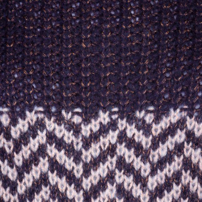 Womens Navy Blazer Yaszagy Knitted Jumper