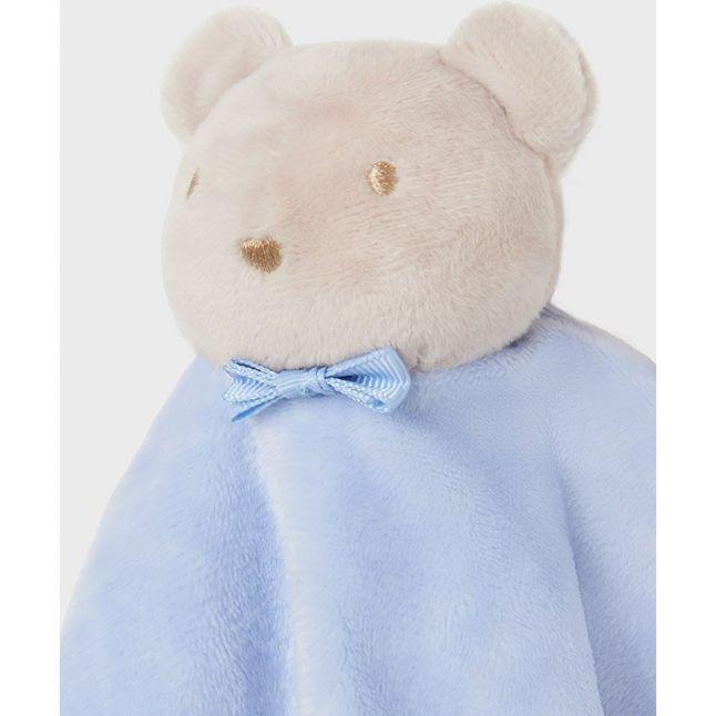 Baby Sky Blue Bunny Comforter