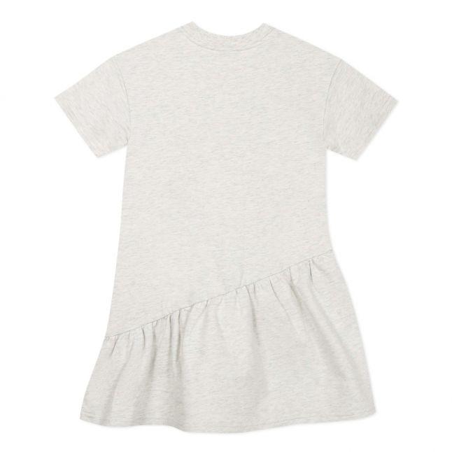 Girls Light Grey Marl Jacinthe Elephant Dress
